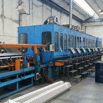 BOSSI CENTERLESS GRINDING AND POLISHING LINE MOD. CPS 400/3000/8U-200 + CP 600/2U-200